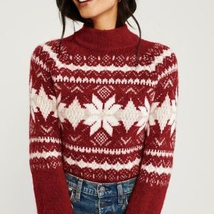 NWT Abercrombie and Fitch Christmas Sweater
